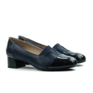 Женские Туфли модельные Лак/Лазер STEPTER * 6891 СИНИЕ