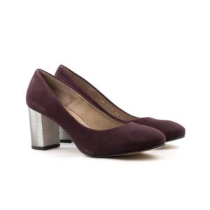 Женские Туфли модельные Замша STEPTER * 6815 БОРДОВЫЕ