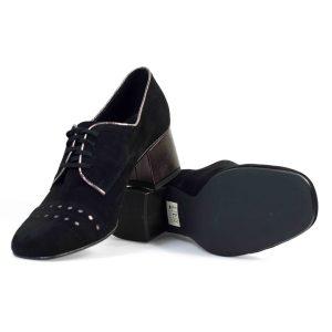 Туфли модельные ANNMEX 8439 01W+04M