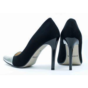 Женские Туфли модельные Замша STEPTER * 6144 СЕРЕБРО