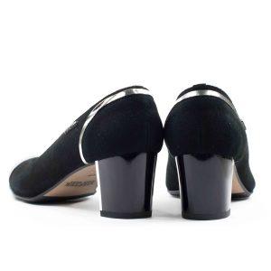 Туфли модельные STEPTER 5286 ЧЁРНЫЕ