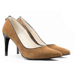 Женские Туфли модельные Замша STEPTER * 5975 СВЕТЛКОРИЧНЕВЫЕ