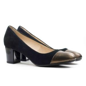 Женские Туфли модельные Замша/Кожа LIZARD * 3090