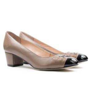 Туфли модельные PAMAR 2398 КОРИЧНЕВЫЕ
