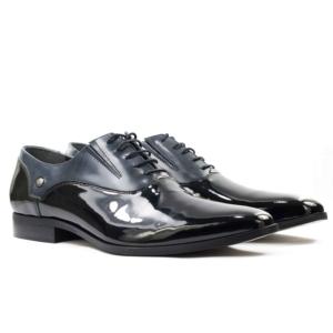 Мужские Туфли модельные Лак CONHPOL * 3958