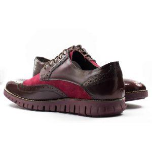 Мужские Туфли модельные Замша/Кожа NIK * 04-0472-003