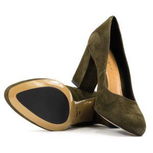 Женские Туфли модельные Замша BEST BUT * 7265831 МИЛИТАРИ