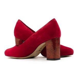 Женские Туфли модельные Замша BEST BUT * 7265831 КРАСНЫЕ