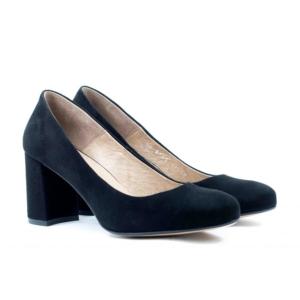 Туфли модельные STEPTER 6365 ЧЁРНЫЕ