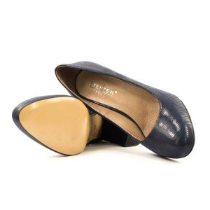 Женские Туфли модельные Натур. Кожа STEPTER * 6365 СИНИЕ