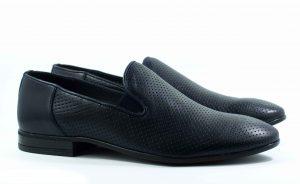 Туфли модельные STEPTER 6070 СИНИЕ
