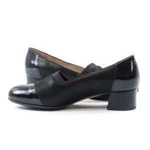 Туфли модельные STEPTER 6891 ЧЁРНЫЕ