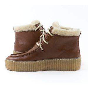 Ботинки STEPTER stepter-7089-коричневые